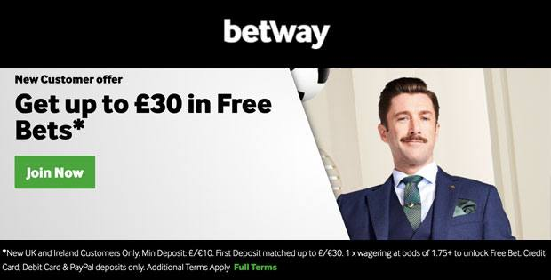 betway sport freebets