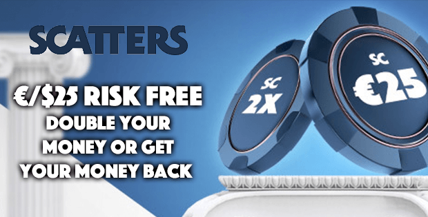 scatters casino free bet