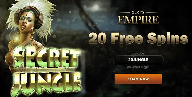 slots empire casino free bet