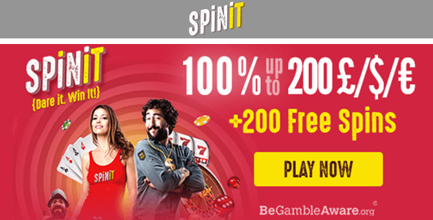 spinit casino free bet