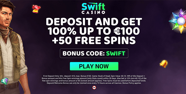 swift casino free bet